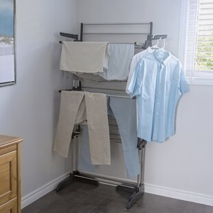 Collapsible Vertical Freestanding Drying Rack