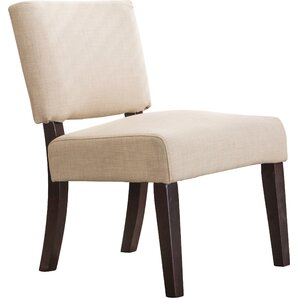 Bethel Padded Armless Slipper Chair by AC Pa..