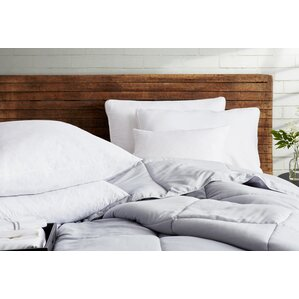Gusseted Down Alternative Jumbo Pillow (Set of 4) by Blue Ridge Home Fashions