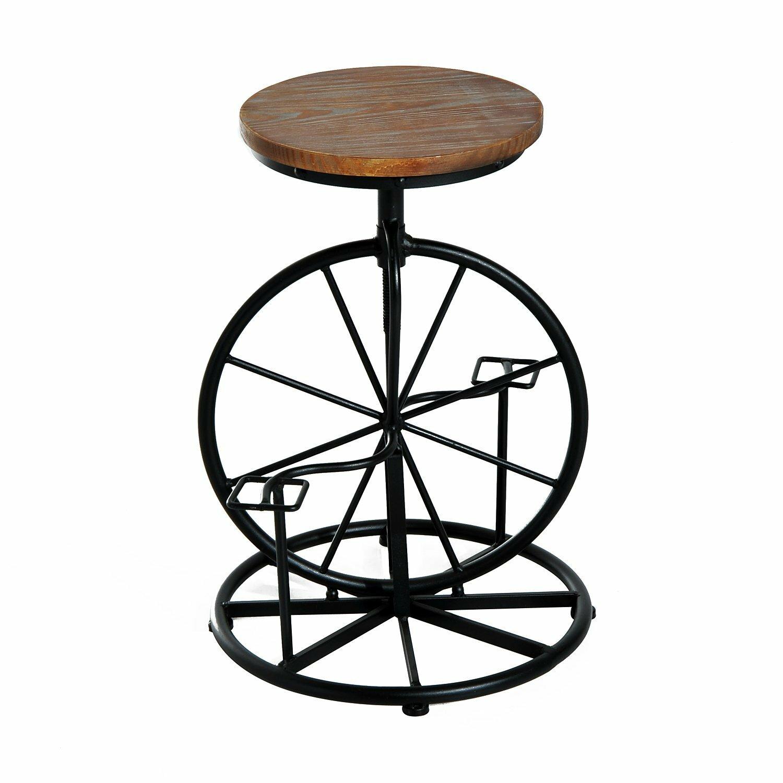 Williston Forge Nevin Bicycle Wheel Adjule Height Swivel Bar
