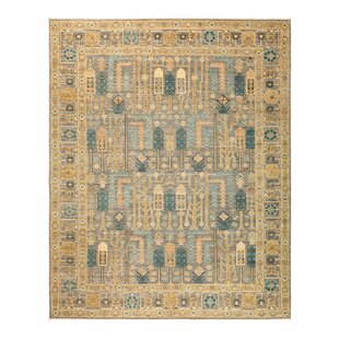One Of A Kind Fine Ghazni Hand Knotted Beige Area Rug