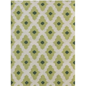 Zara Green Area Rug
