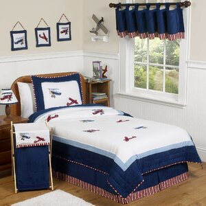 Vintage Aviator 4 Piece Twin Comforter Set