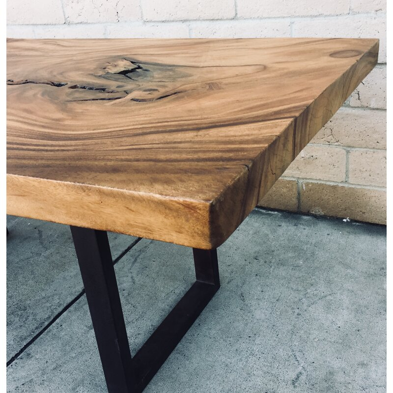 Superieur Dandre Natural Solid Wood Dining Table