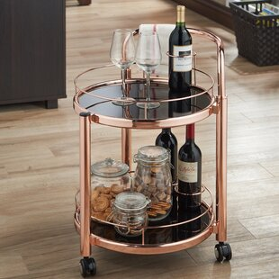 Glenoe Serving Bar Cart