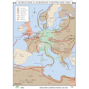 Universal Map World History Wall Maps | Wayfair