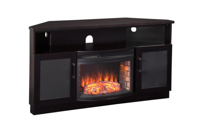 """60"""" TV Stand with Fireplace"""