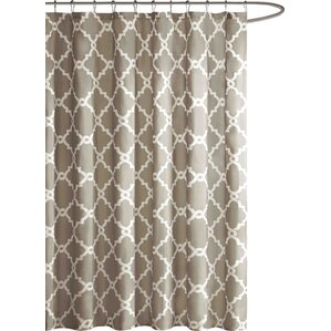 beige and brown shower curtain. Alta Microfiber Shower Curtain Brown Curtains You ll Love  Wayfair