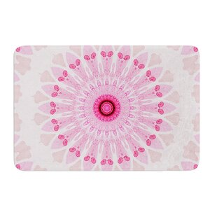 Flower Power by Iris Lehnhardt Bath Mat