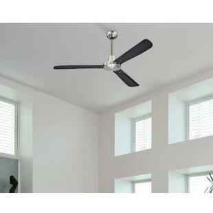 Battery operated ceiling fan wayfair 52 banford 3 blade ceiling fan with remote aloadofball Gallery
