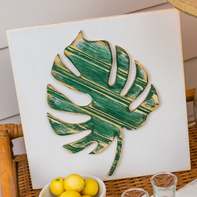 Island Way Palm Leaf Wall Décor & Reviews | Wayfair