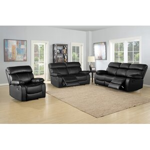 Birdsboro 3 Piece Living Room Set by Red Barrel Studio