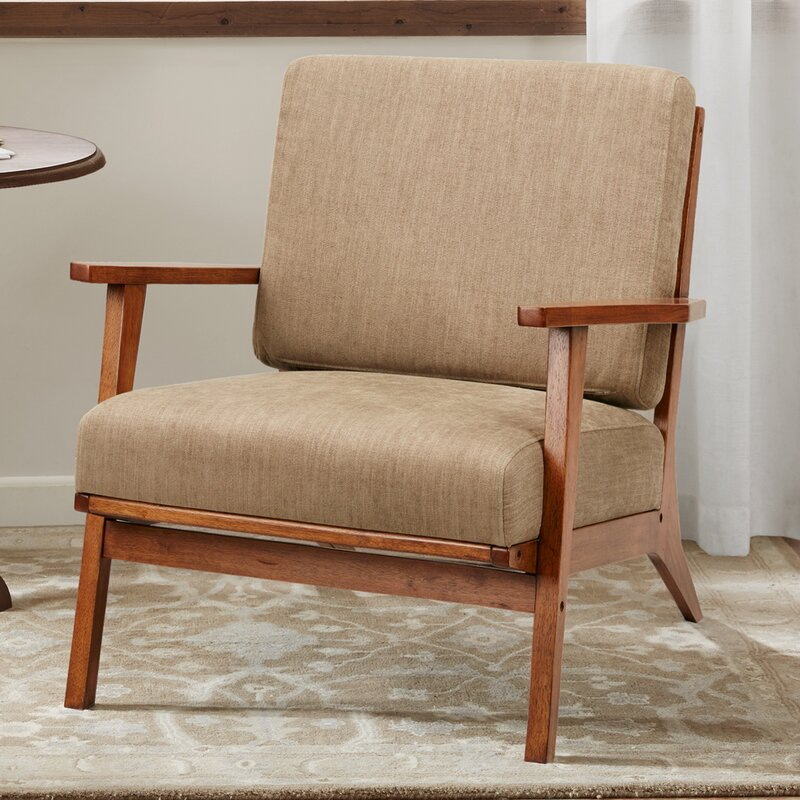 Chair: Wooden Accent Chair