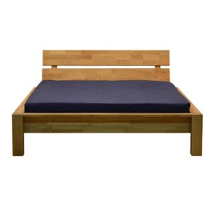 Woody Queen Platform Bed by Parisot