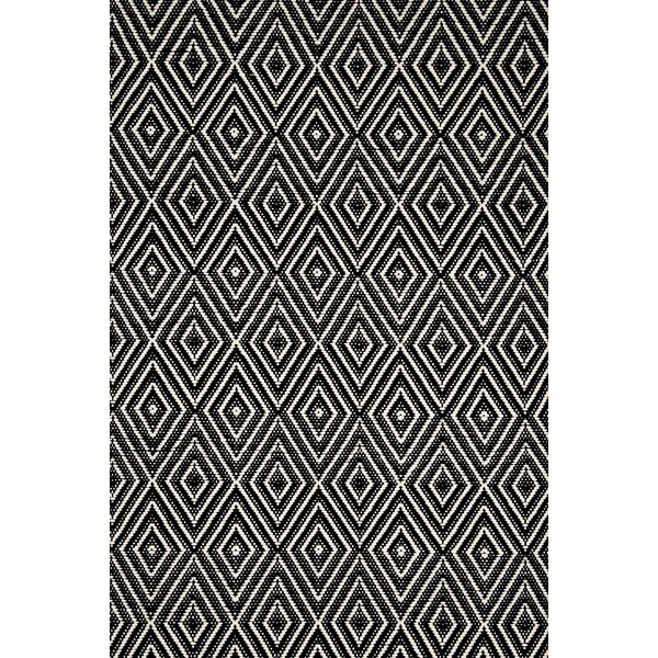 Dash And Albert Rugs Hand Woven Black Indoor/Outdoor Area Rug U0026 Reviews |  Wayfair