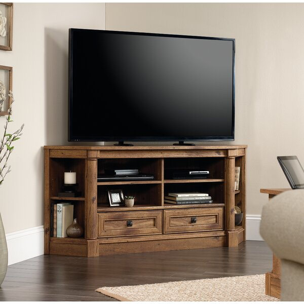 darby home co sagers corner 61 tv stand reviews wayfair. Black Bedroom Furniture Sets. Home Design Ideas