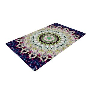 Summer of Folklore Pink/Navy Area Rug