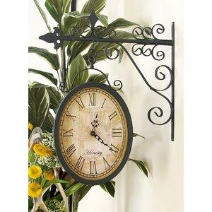 Double Side Wall Clock