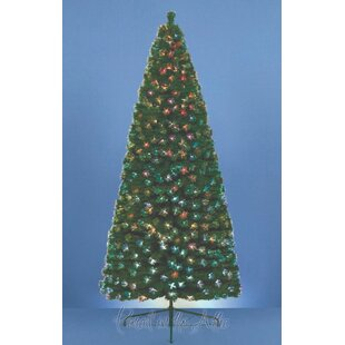25ft artificial christmas tree with 75 fibre optic tips