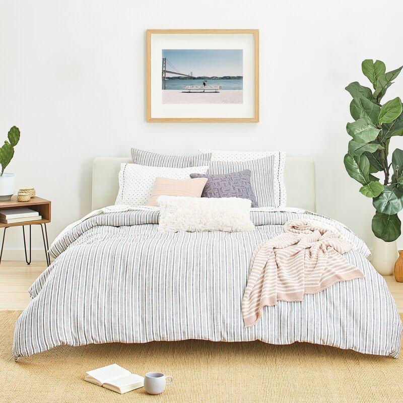 7c31e53d74be SPLENDID HOME Laguna Stripe Reversible Comforter Set & Reviews | Wayfair