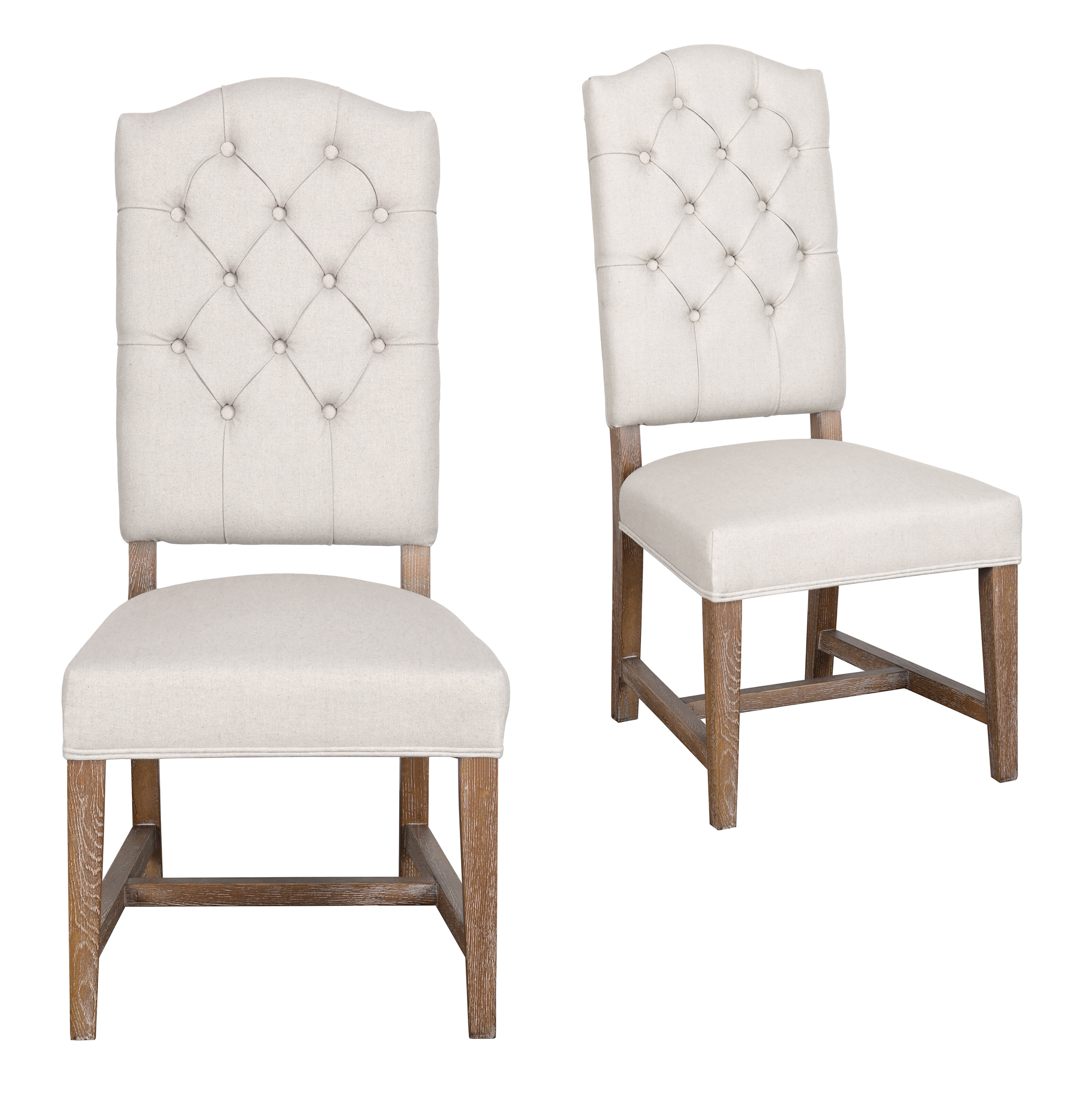Marvelous Farmhouse Dining Chairs Benches Birch Lane Download Free Architecture Designs Grimeyleaguecom