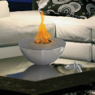 Sutton Indoor/Outdoor Gel Fuel Tabletop Fireplace