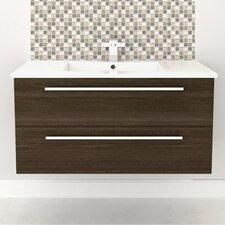 "Silhouette Wall Hung 48"" Single Bathroom Vanity Set"