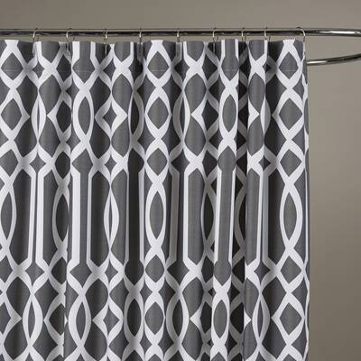 Ewen 100 Cotton Single Shower Curtain Reviews Allmodern