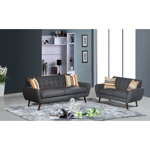 Zipcode Design Diara 2 Piece Living Room Set Image