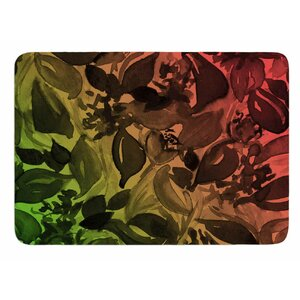 Blossoms Unchained 3 by Ebi Emporium Bath Mat