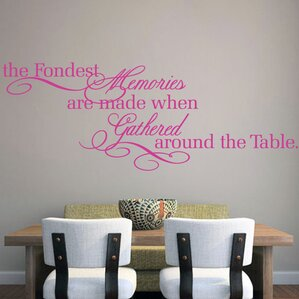 The Fondest Memories Wall Decal Part 30