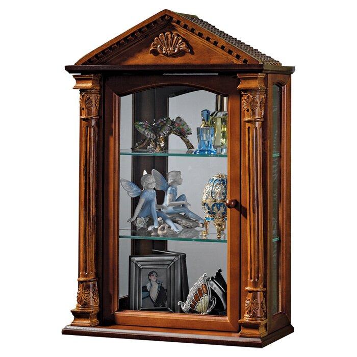 Es Hall Wall Mounted Curio Cabinet