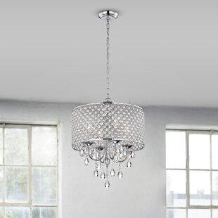 Chandeliers joss main aldgate 4 light crystal chandelier aloadofball Image collections