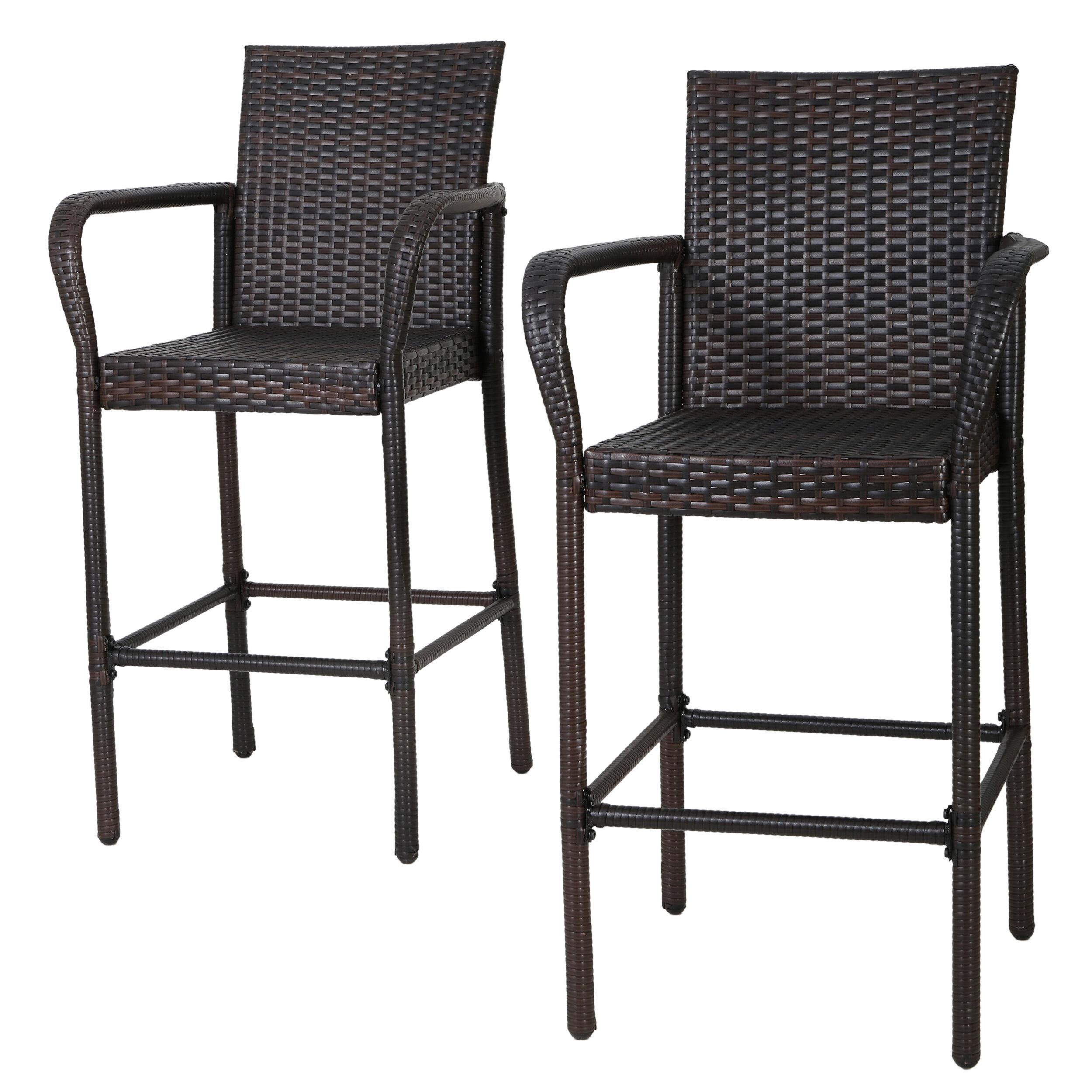 Mercury row lansdale 30 patio bar stool reviews wayfair