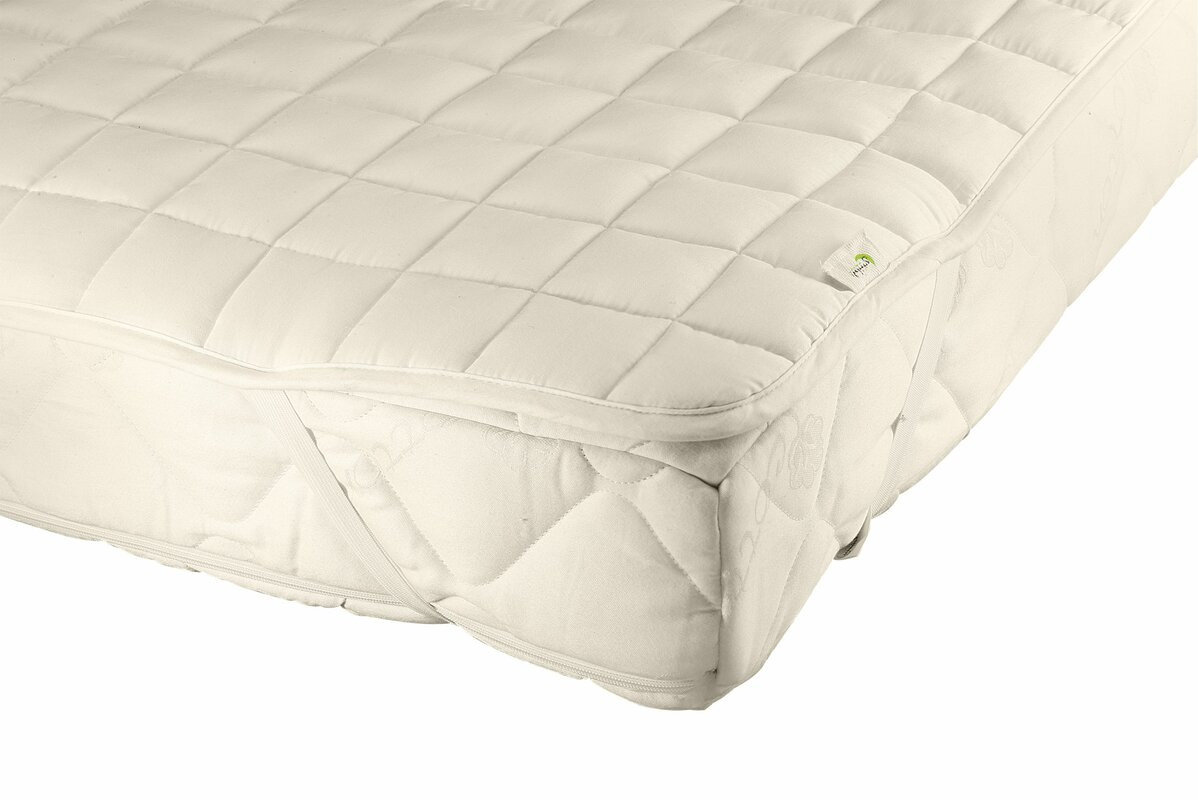Greenbuds Organic Cotton And Wool Filled Crib Mattress