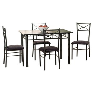 Geraldine 5 Piece Dining Set II by Zipcode Design