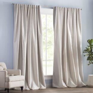 3 Inch Rod Pocket Curtains Wayfair