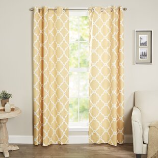 Yellow And Turquoise Curtains