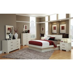 Good Platform Customizable Bedroom Set