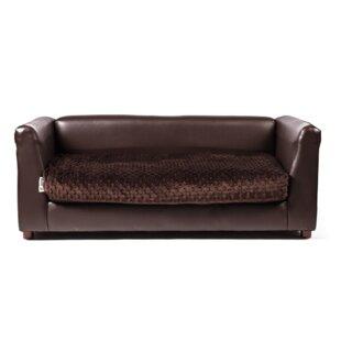 Hollie Fluffy Dog Sofa