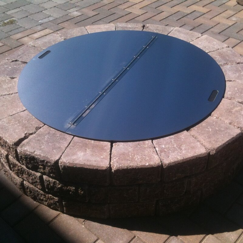 Round Snuffer Fire Pit Cover - Firebuggz Round Snuffer Fire Pit Cover & Reviews Wayfair
