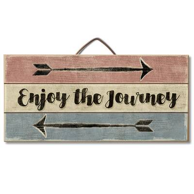 Enjoy The Journey Pallet Wood Sign Wall Décor