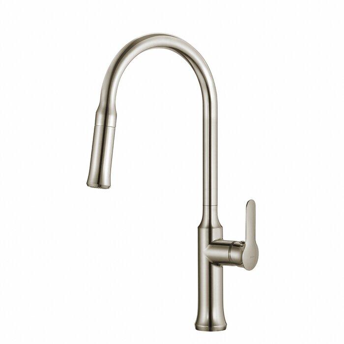 Brilliant Nola Pull Down Single Handle Kitchen Faucet Interior Design Ideas Gentotthenellocom