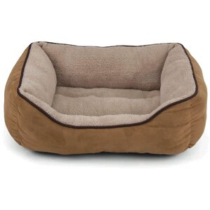 Faux Suede Bolster