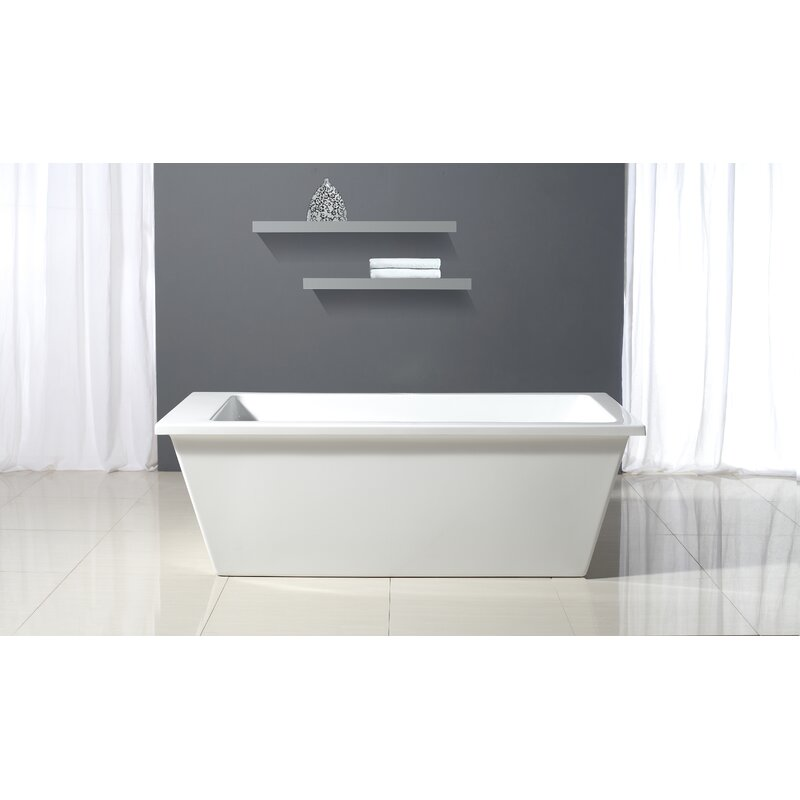 Charming Houston 69 X 31 Bathtub