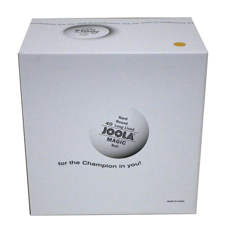 JOOLA Magic 2-Star Training Table Tennis Balls – 144 Pack - Orange