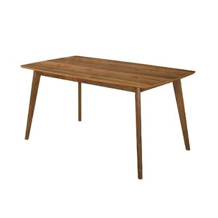Dyess Quaint Style Solid Wood Dining Table