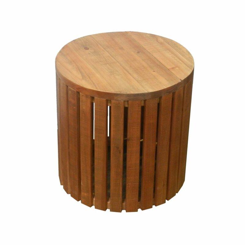 Marvelous Nadeau Carney Amazing Wooden Garden Stool