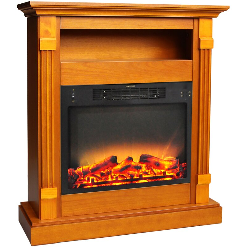 Electric Fireplace Freestanding Part - 34: Sacha Free Standing Electric Fireplace