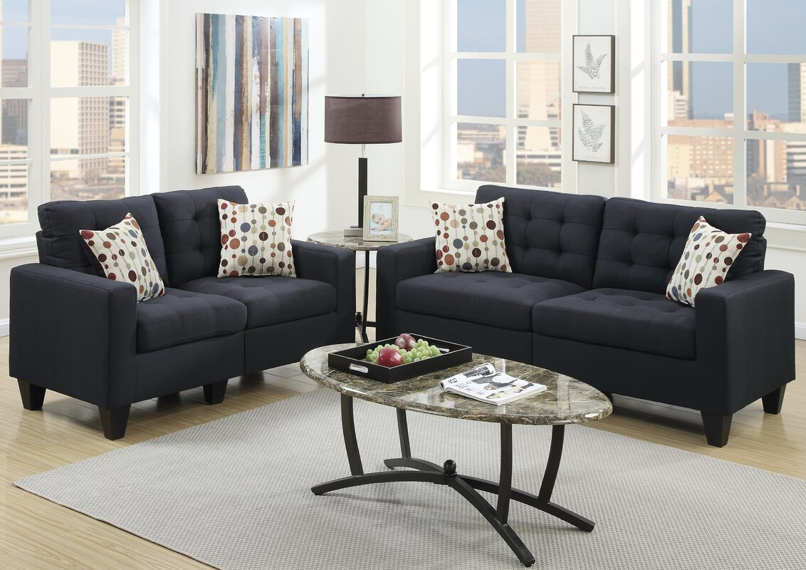 Callanan 2 Piece Living Room Set